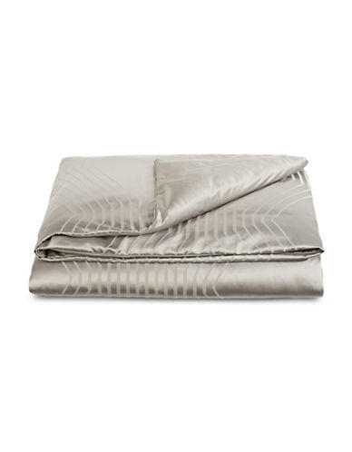 Hotel Collection Keystone Duvet Cover-SILVER-King
