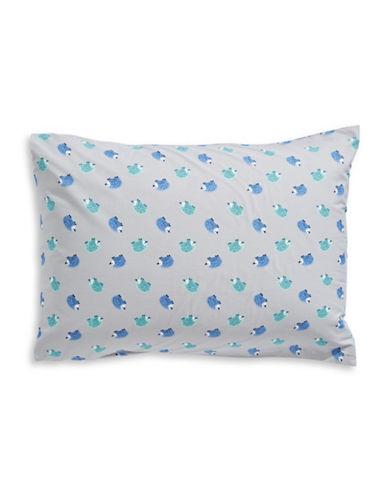 Martha Stewart Whim Set of Two Hedgehog Hip Pillowcases-BLUE-Standard