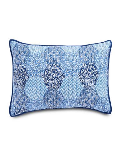 Martha Stewart Indigo Dream Standard Sham-BLUE-Standard