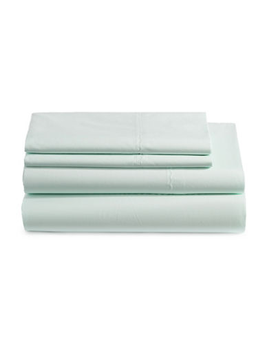 Martha Stewart 360 Thread Count Percale Sheet Set-MINT-King
