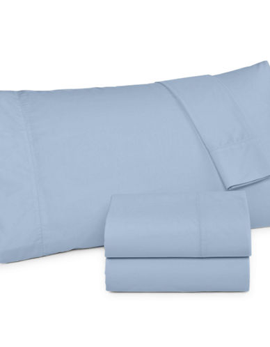 Martha Stewart 360 Thread Count Percale Sheet Set-BLUE-Twin
