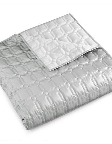 Hotel Collection Chalice Quilted Coverlet-GREY-Queen