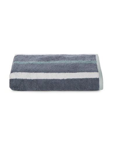 Hotel Collection Wide Striped MicroCotton Bath Towel-BLUE-Bath Towel