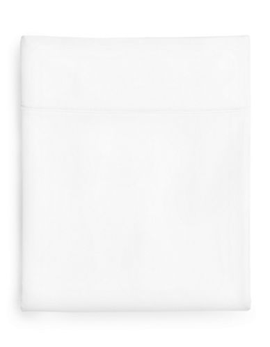 Hotel Collection 1000-Thread Count Egyptian Cotton Fitted Sheet-WHITE-Queen