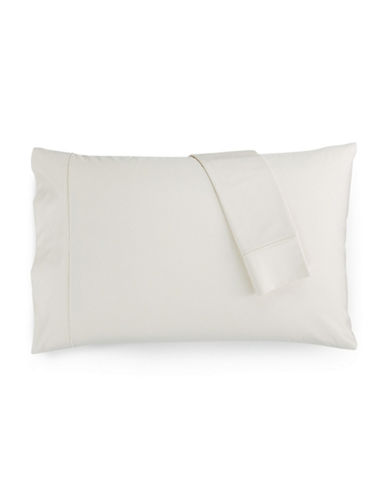Hotel Collection Set of Two 1000-Thread Count King Pillowcases-NATURAL-Standard
