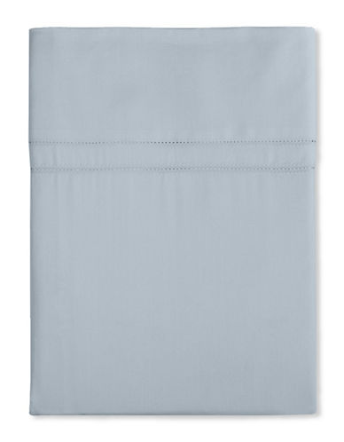 Hotel Collection 800 Thread Count Egyptian Cotton Flat Sheet-LIGHT BLUE-Queen