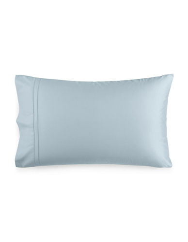 Hotel Collection 800 Thread Count Egyptian Cotton Pillowcases-LIGHT BLUE-King