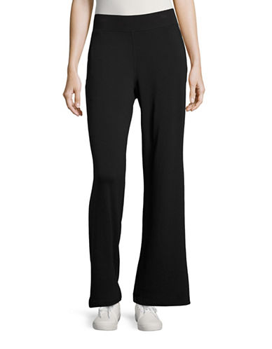 Style And Co. Slant Pocket Lounge Pants-BLACK-Medium 88788912_BLACK_Medium