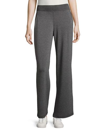 Style And Co. Slant Pocket Lounge Pants-GREY-Large 88788917_GREY_Large