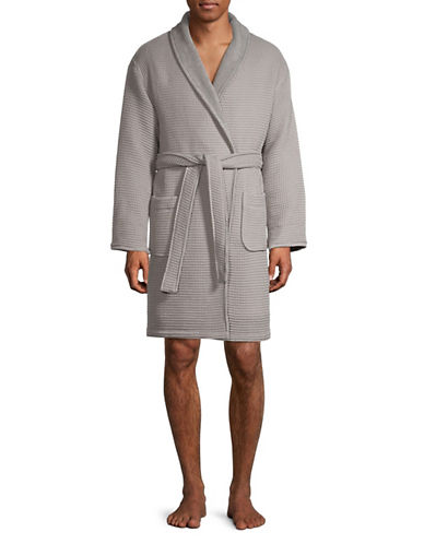 Hotel Collection Turkish Cotton Waffle Robe-MICA-One Size