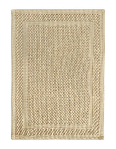 Hotel Collection Woven Cotton Bath Mat-LINEN-One Size