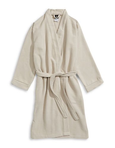 Hotel Collection Turkish Cotton Waffle Robe-OAT-One Size