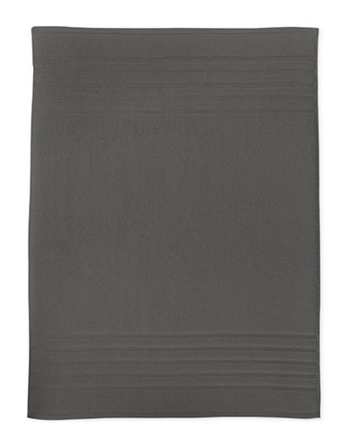 Hotel Collection Ultimate MicroCotton Tub Mat-SMOKE-Bath Mat
