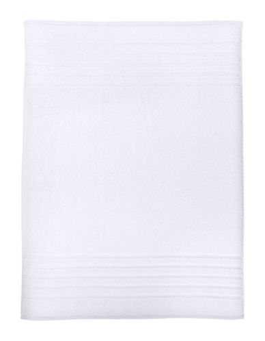 Hotel Collection Ultimate MicroCotton Tub Mat-WHITE-Bath Mat