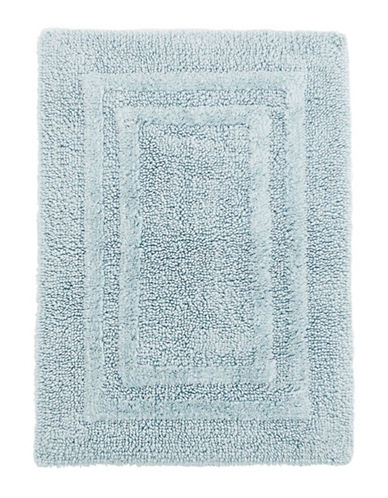 Hotel Collection Reversible Cotton Bath Rug-CLOUD-21x34