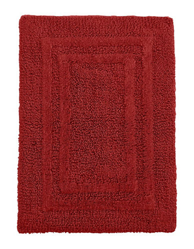 Hotel Collection Reversible Cotton Bath Rug-CASSIS-One Size