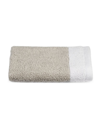 Hotel Collection Reversible MicroCotton Wash Cloth-MERCURY-Washcloth