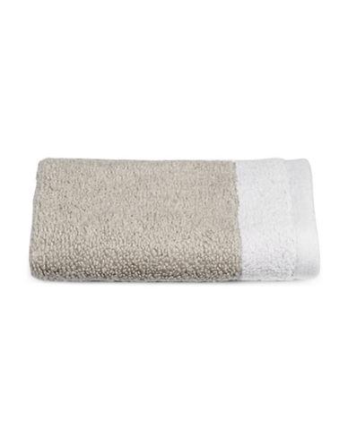 Hotel Collection Reversible MicroCotton Wash Cloth-MERCURY-Washcloth