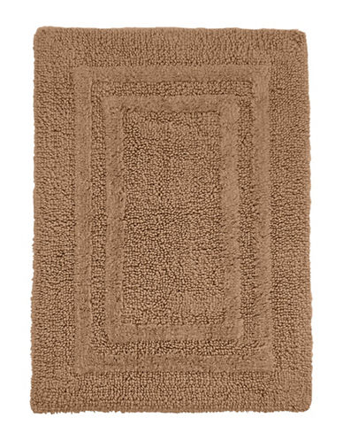 Hotel Collection Reversible Cotton Bath Rug-CHAMOIS-One Size