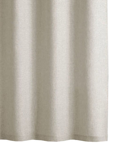 Hotel Collection Extra-Long Linen Shower Curtain-LINEN-One Size