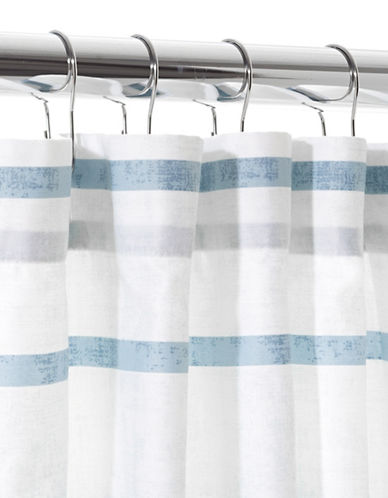 Hotel Collection Colonnade Extra-Long Shower Curtain-HARBOUR-One Size