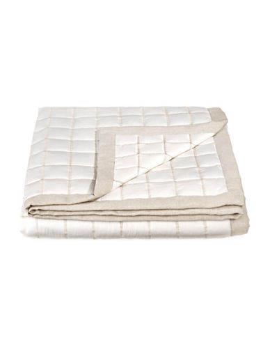 Hotel Collection Waffle Weave Coverlet-NATURAL-Queen