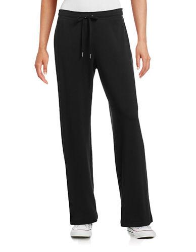 Style And Co. Cotton-Blend Lounge Pants-BLACK-Medium 88453702_BLACK_Medium