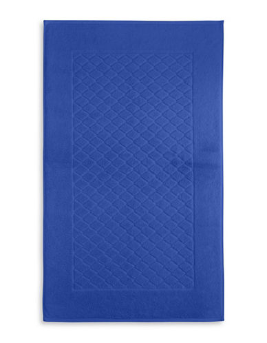 Charter Club Home Classic Pima Cotton Tub Mat-ROYAL BLUE-Bath Mat