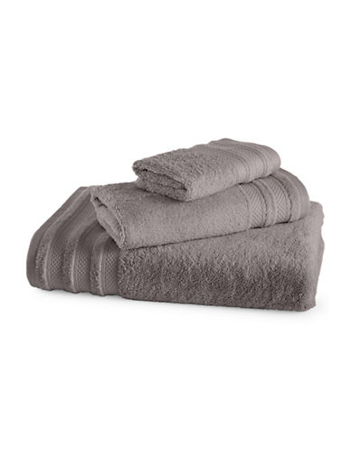 Charter Club Home Pima Cotton Wash Cloth-GRAPHITE-Washcloth