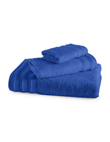 Charter Club Home Pima Cotton Wash Cloth-ROYAL BLUE-Washcloth
