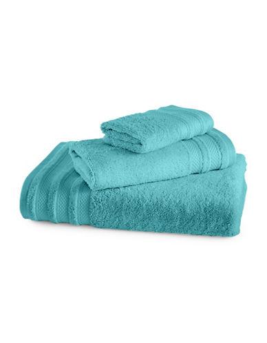Charter Club Home Pima Cotton Wash Cloth-AQUA-Washcloth