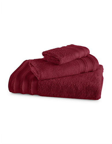 Charter Club Home Pima Cotton Wash Cloth-GARNET-Washcloth