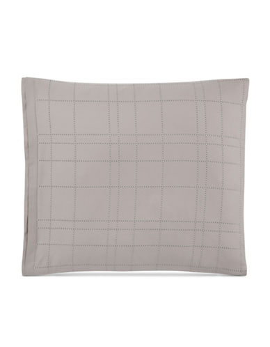 Hotel Collection Two-Pack Modern European Shams-BEIGE-European