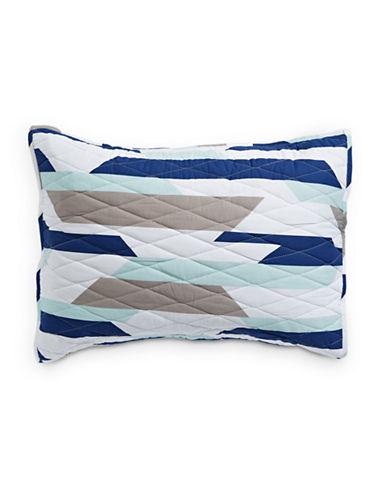Martha Stewart Whim Wide Angle Pillow Sham-MULTI-Standard