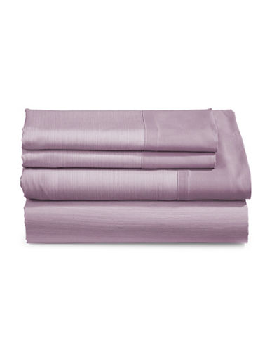 Charter Club Home 550-Thread Count Reversible King Sheet Set-PURPLE-Queen