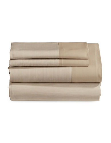 Charter Club Home 550-Thread Count Reversible King Sheet Set-MOCHA-King