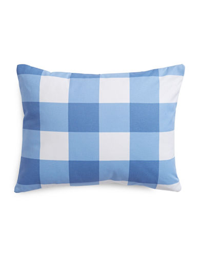 Charter Club Home Gingham Decorative Pillow-DENIM-One Size