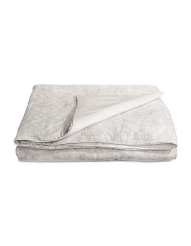 Hotel Collection Eclipse Duvet Cover-GREY-Queen