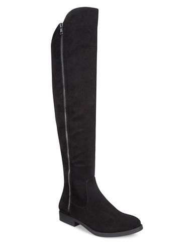Style And Co. Hadley Over-The-Knee Boots-BLACK-5.5