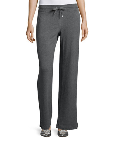 Style And Co. Cotton-Blend Lounge Pants-GREY-Small 88548706_GREY_Small