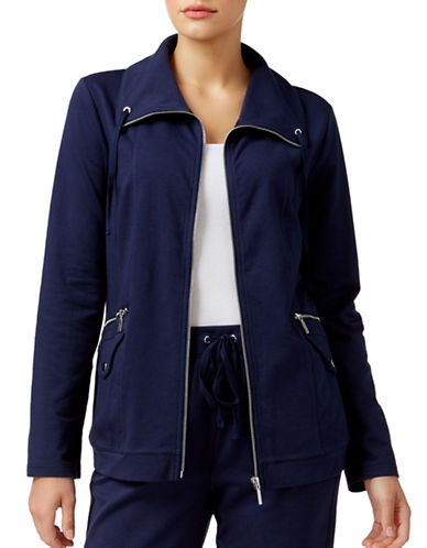 Karen Scott Utility Jacket-BLUE-Medium 88800544_BLUE_Medium