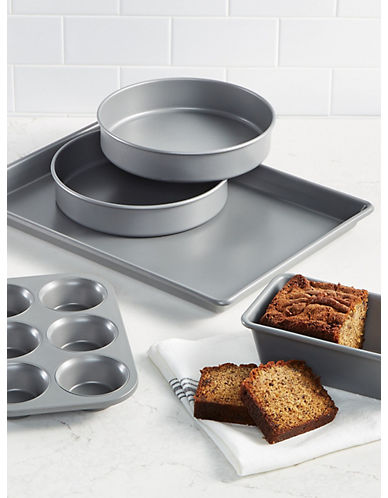 Martha Stewart Martha Stewart Collection Pro 5-Pc. Nonstick Bakeware-METAL-One Size