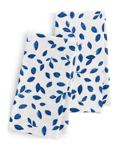 Martha Stewart Stockholm Two-Piece Napkin Set-MULTI-One Size