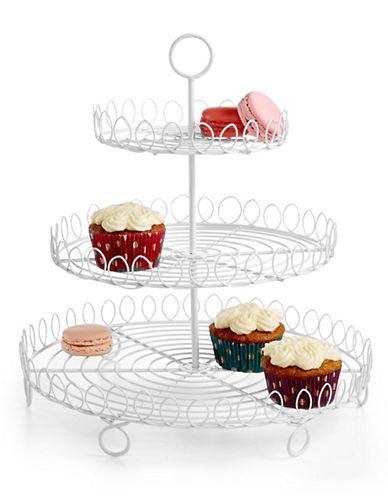 Martha Stewart Cupcake Tree-WHITE-One Size