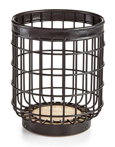 Martha Stewart Wire Utensil Crock-BLACK-One Size