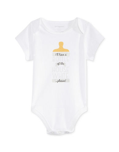 First Impressions House White Bodysuit-WHITE-0-3 Months