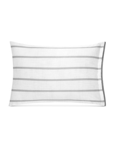 Hotel Collection Colonnade Dusk Pillow Sham-CHARCOAL-King