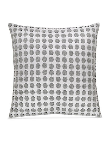 Hotel Collection Colonnade Dusk Square Cushion-CHARCOAL-18x18