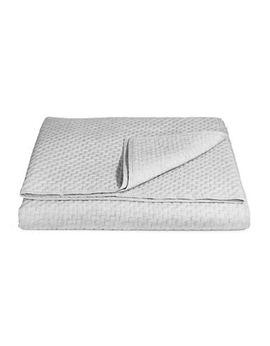 Hotel Collection Colonnade Dusk Quilted Coverlet-CHARCOAL-King