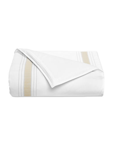 Hotel Collection Accent Duvet Cover-BEIGE-Queen